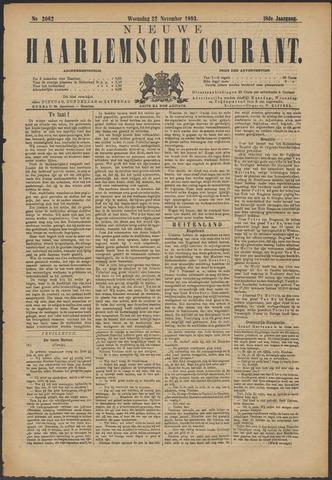 Nieuwe Haarlemsche Courant 1893-11-22