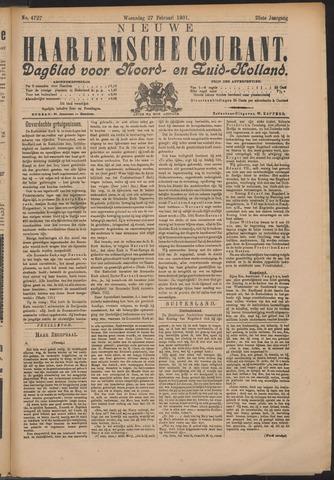 Nieuwe Haarlemsche Courant 1901-02-27