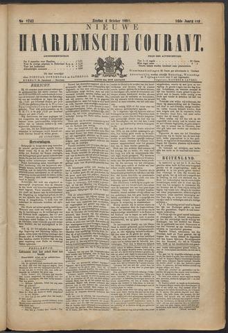 Nieuwe Haarlemsche Courant 1891-10-04