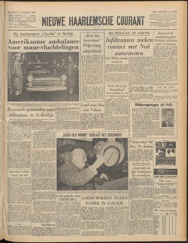 Nieuwe Haarlemsche Courant 1962-08-22