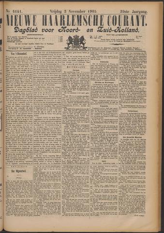 Nieuwe Haarlemsche Courant 1905-11-03