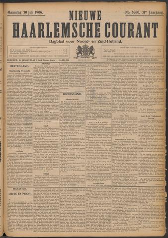 Nieuwe Haarlemsche Courant 1906-07-30