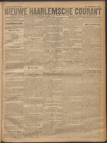 Nieuwe Haarlemsche Courant 1919-08-19