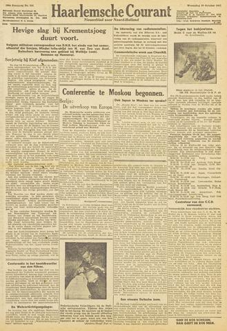 Haarlemsche Courant 1943-10-20