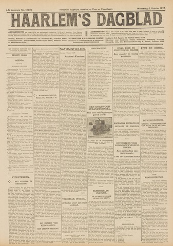 Haarlem's Dagblad 1926-10-06