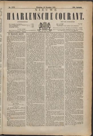 Nieuwe Haarlemsche Courant 1891-12-16
