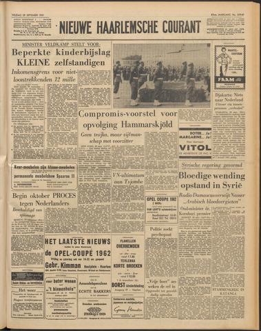 Nieuwe Haarlemsche Courant 1961-09-29