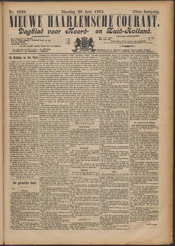 Nieuwe Haarlemsche Courant 1905-06-20