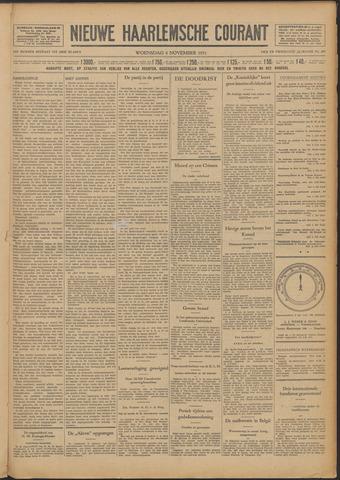 Nieuwe Haarlemsche Courant 1931-11-04