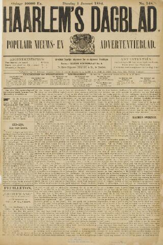 Haarlem's Dagblad 1884