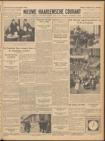 Nieuwe Haarlemsche Courant 1938-09-09