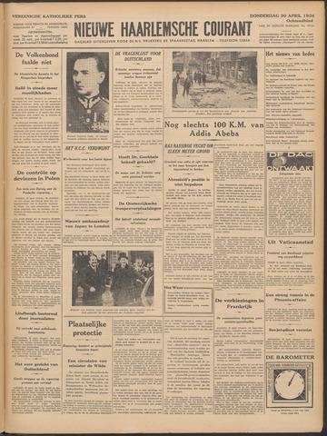 Nieuwe Haarlemsche Courant 1936-04-30