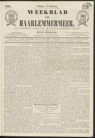 Weekblad van Haarlemmermeer 1862-01-03
