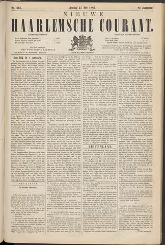 Nieuwe Haarlemsche Courant 1883-05-27