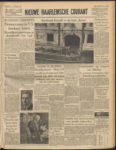 Nieuwe Haarlemsche Courant 1958-11-05