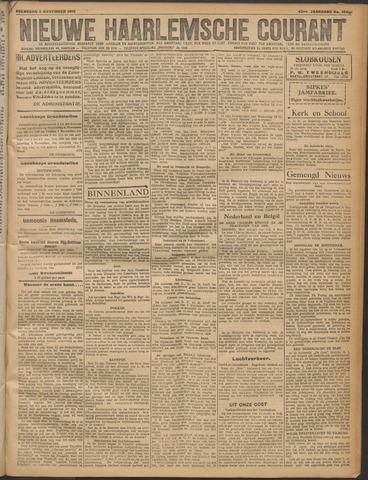 Nieuwe Haarlemsche Courant 1919-11-05