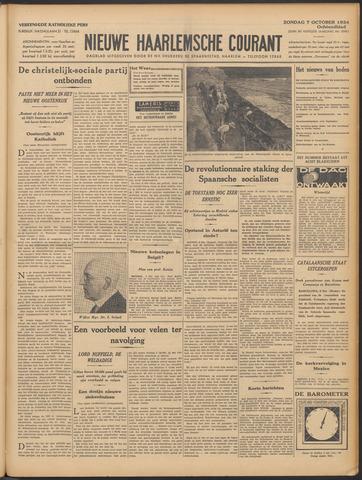 Nieuwe Haarlemsche Courant 1934-10-07