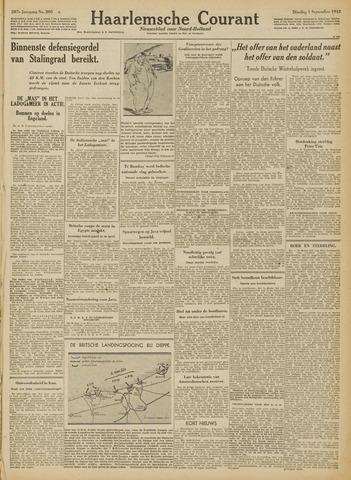 Haarlemsche Courant 1942-09-01