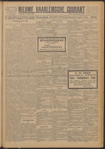 Nieuwe Haarlemsche Courant 1924-04-19