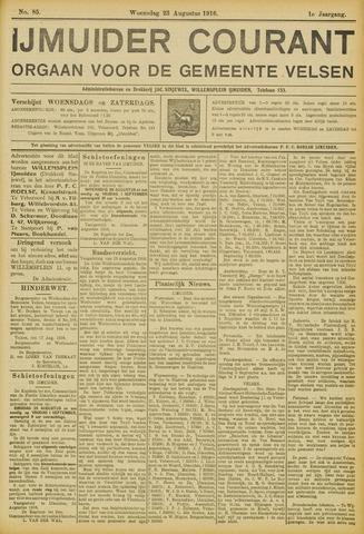 IJmuider Courant 1916-08-23