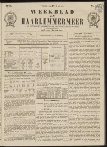 Weekblad van Haarlemmermeer 1867-03-15
