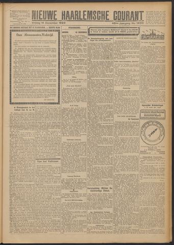 Nieuwe Haarlemsche Courant 1923-12-14