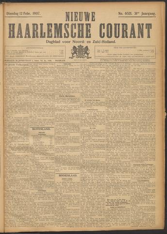Nieuwe Haarlemsche Courant 1907-02-12