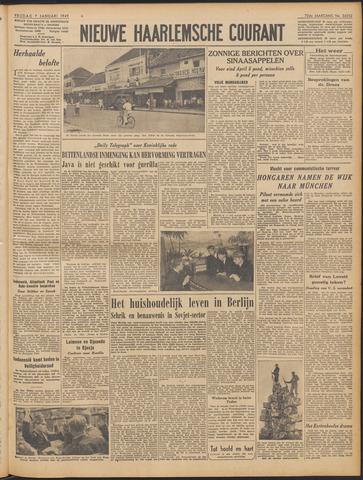 Nieuwe Haarlemsche Courant 1949-01-07