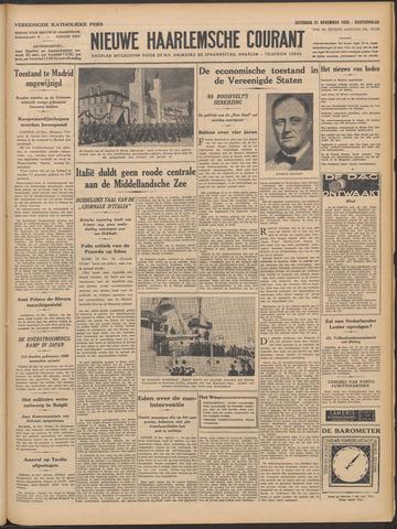 Nieuwe Haarlemsche Courant 1936-11-21