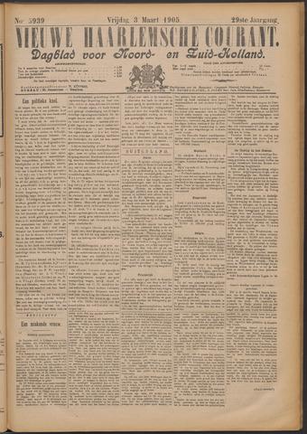 Nieuwe Haarlemsche Courant 1905-03-03