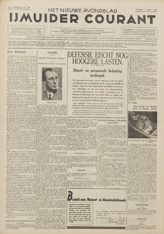 IJmuider Courant 1938-04-01