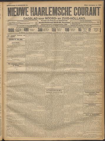 Nieuwe Haarlemsche Courant 1911-08-17