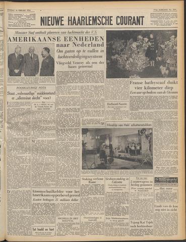 Nieuwe Haarlemsche Courant 1954-02-16