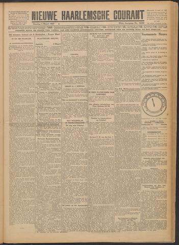 Nieuwe Haarlemsche Courant 1927-03-01