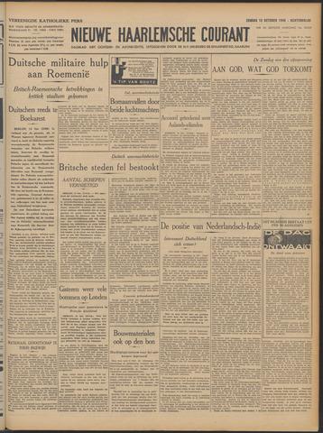 Nieuwe Haarlemsche Courant 1940-10-13