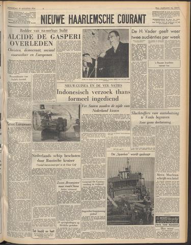 Nieuwe Haarlemsche Courant 1954-08-19