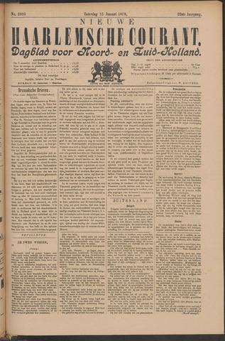 Nieuwe Haarlemsche Courant 1898-01-15