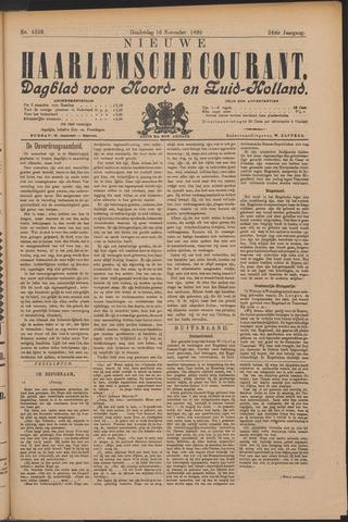 Nieuwe Haarlemsche Courant 1899-11-16