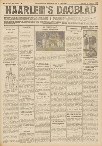 Haarlem's Dagblad 1926-08-16