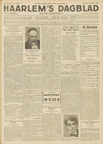 Haarlem's Dagblad 1935-03-23