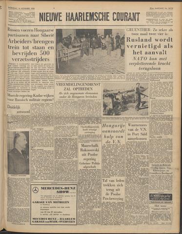 Nieuwe Haarlemsche Courant 1956-11-14