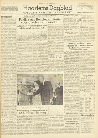 Haarlem's Dagblad 1954-06-26