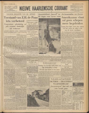 Nieuwe Haarlemsche Courant 1958-10-07