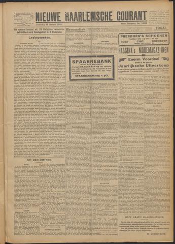 Nieuwe Haarlemsche Courant 1924-01-12