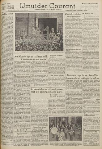 IJmuider Courant 1948-09-01