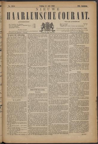 Nieuwe Haarlemsche Courant 1893-07-21