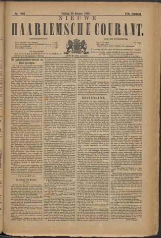Nieuwe Haarlemsche Courant 1892-10-28