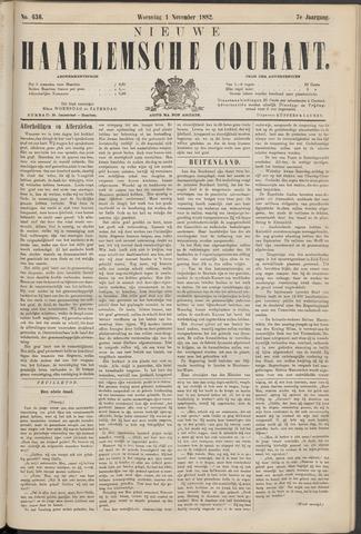 Nieuwe Haarlemsche Courant 1882-11-01