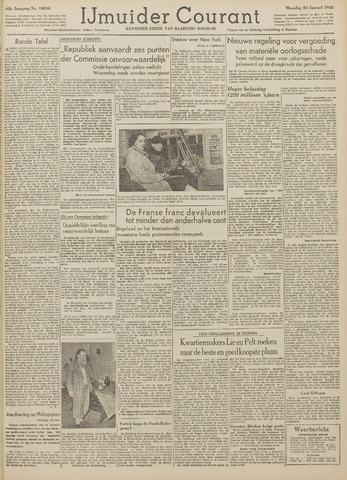 IJmuider Courant 1948-01-26