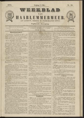 Weekblad van Haarlemmermeer 1874-05-01